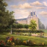 Saturday in the Park- The Tuileries. Paris