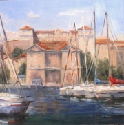 Dockside in Marseilles