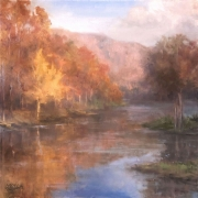 Autumn at Lake Sherando